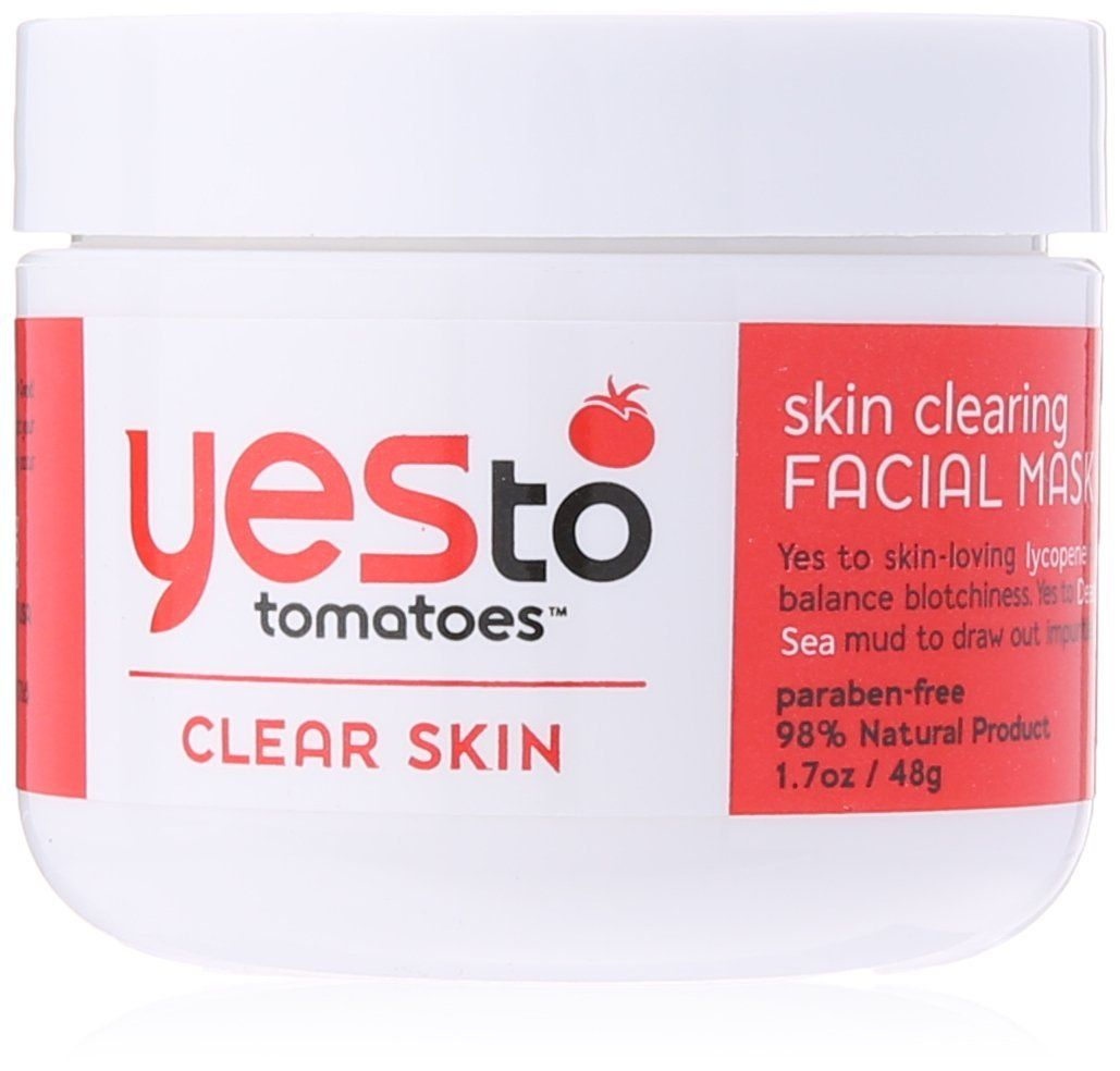 Yes To Tomatoes Skin Clearing Facial Mask, 1.7 Fluid Ounce *** Trust me, this is great! Click the image. : Natural Beauty Care