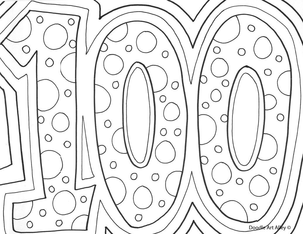 100th day pages | fun | Pinterest