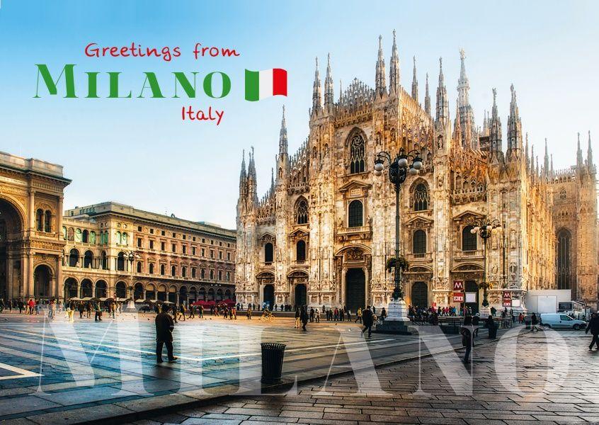 Mailand Viktor Emanuel Galerie Urlaubsgrusse Und Spruche Echte Postkarten Online Versenden Urlaub Grusse Urlaubsgrusse Postkarten