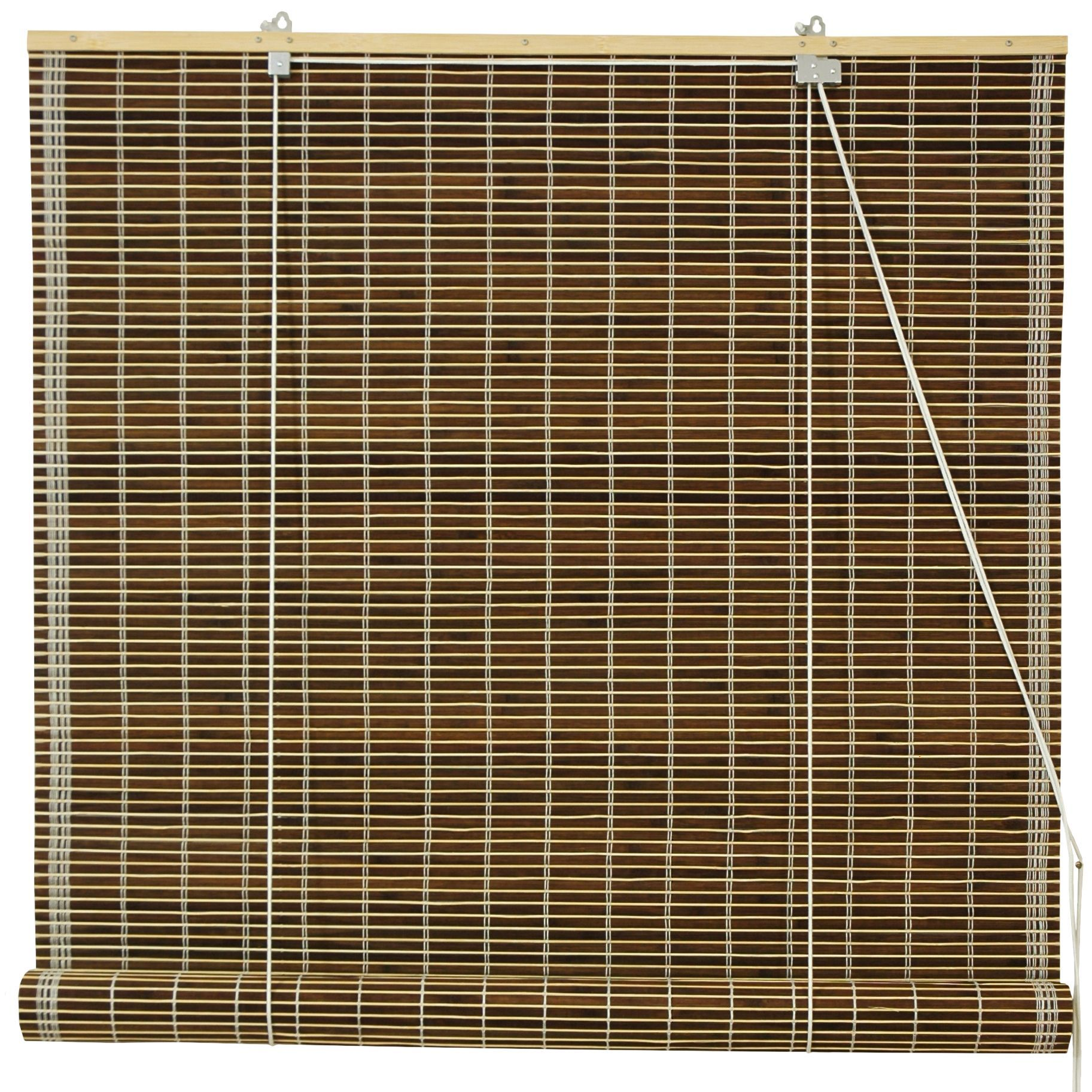 woven up outdoor bamboo window indoor manual roll radiance treatment natural wood reed roller canada blinds