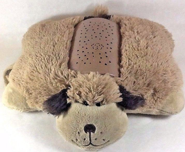 Dream Lites Pillow Pet Puppy Dog Plush Night Light Projects Starry Sky 3 Colors Pillowpets Christmas Christmasg Animal Pillows Brown Puppies Pet Dogs Puppies