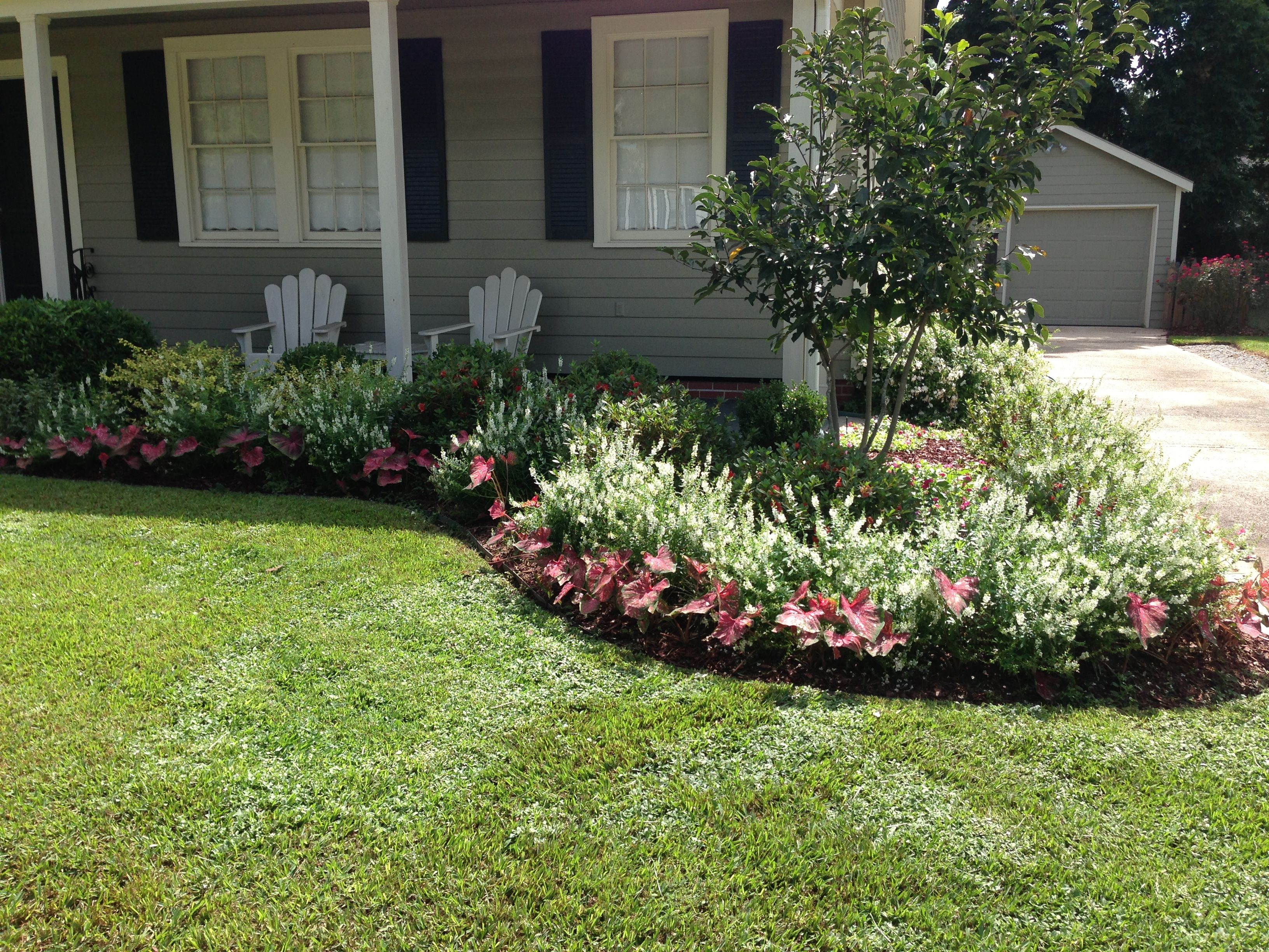 Landscape Design Front Of House Layout Perennial Gardens