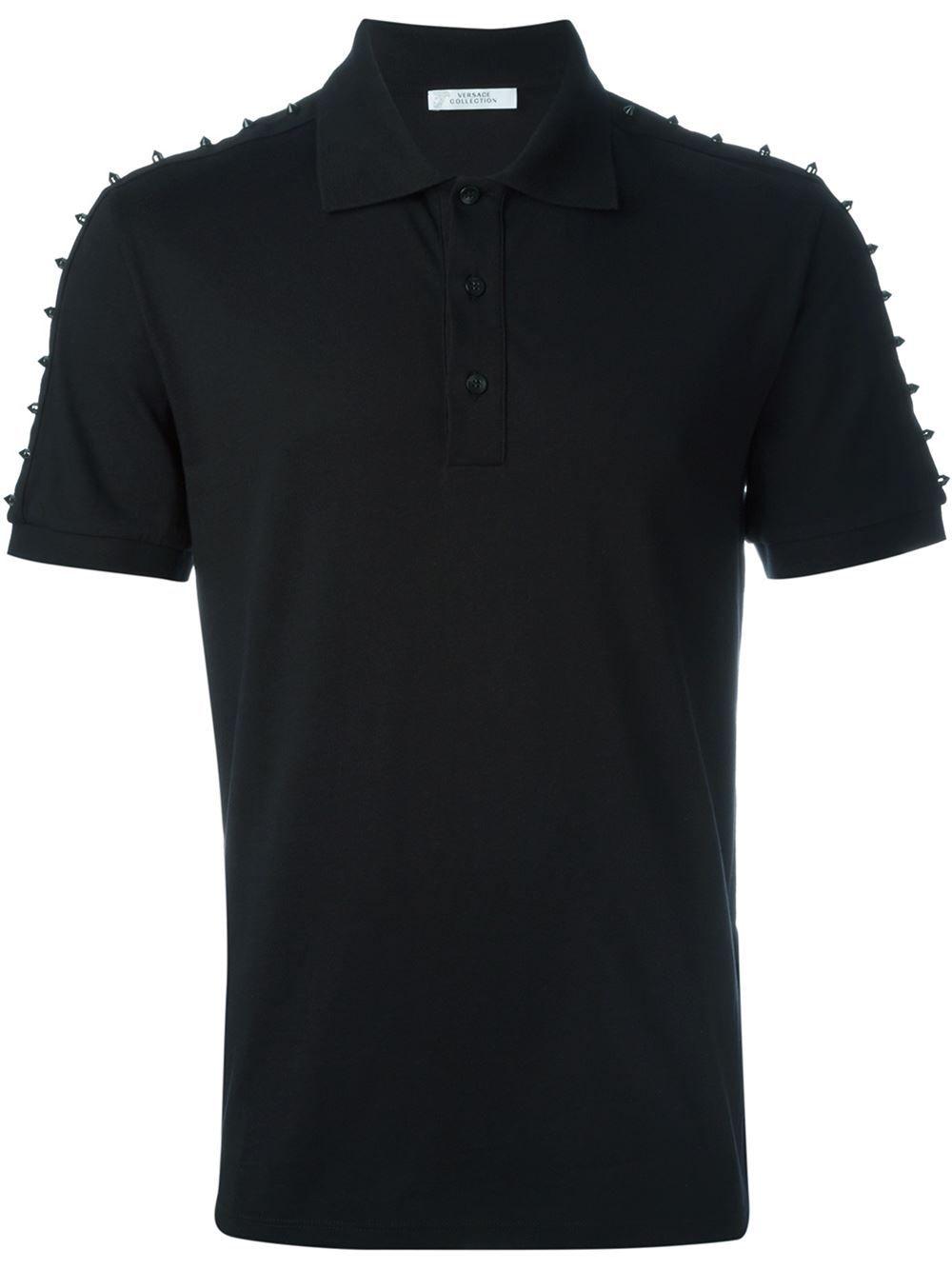 89bcba817 Versace Collection Camisa polo