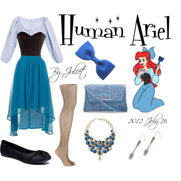 """Human Ariel"" by juliet15243 on Polyvore"