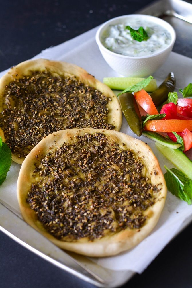 ZAATAR MANAKEESH RECIPE