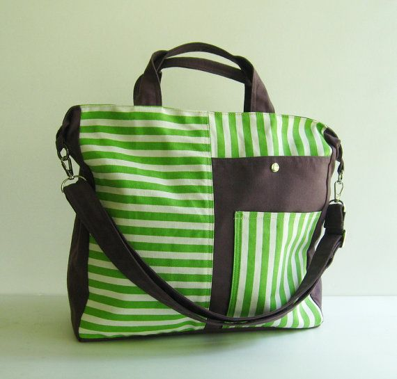 Sale - Canvas Messenger Bag, tote, purse, everyday bag, laptop bag, travel bag - BETTY