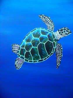 Painted Sea Turtles Google Search Sea Turtle Art