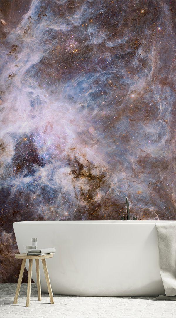 Space Galaxy Wallpaper Wallsauce Uk Bed Furniture Design Galaxy Wallpaper Galaxy Bedroom