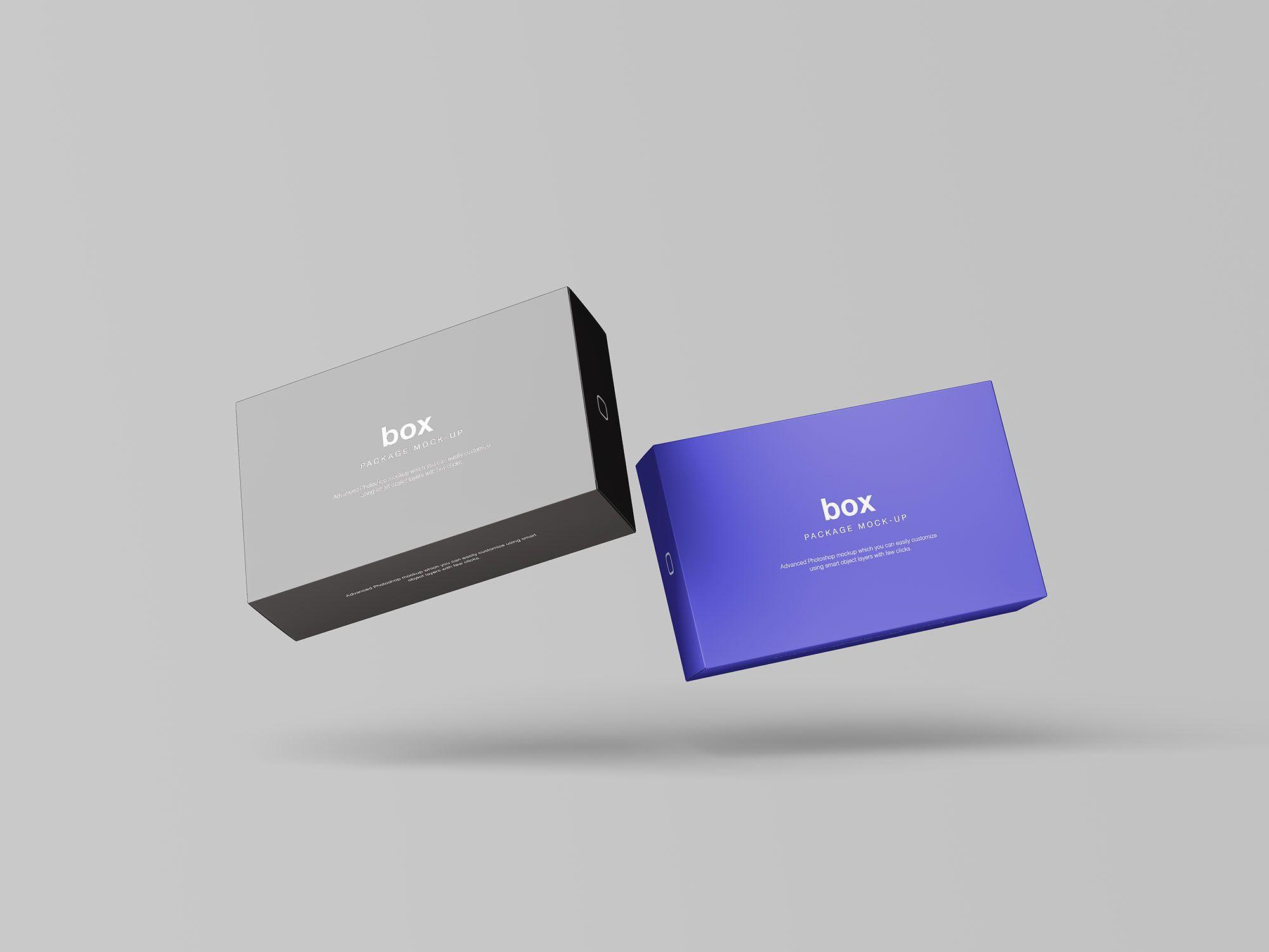 Download Box Packaging Mockup