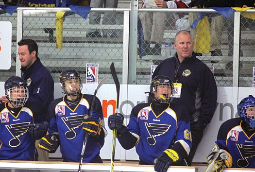After 19 Seasons In The Nhl Hall Of Famer Keith Tkachuk Is Passing On His Considerable Hockey Knowledge To The Next Generation Of Youth Hockey Go Blue Riding