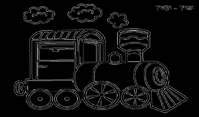 Gambar Kereta Api Untuk Mewarnai Mewarnai Gambar Kereta Api Aneka Mewarnai Gambar Gambar Warna Kereta