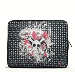 """Snot skull 17.1"""" 17.3"""" inch Laptop Bag Sleeve Case for Apple MacBook pro 17/Dell Inspiron 17R Vostro XPS Alienware M17x/Samsung 700 Sony Vaio E 17/ HP dv7 ENVY"""