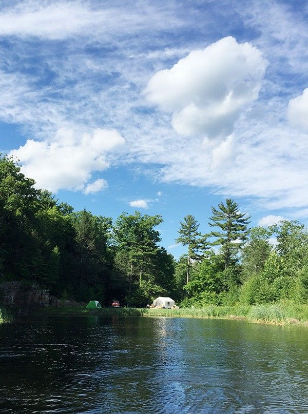 A look at one family's first camping trip together. Includes tips for what to pack and a giveaway so you can buy some of your own camping gear to prepare for your family's trip!