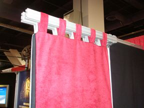 noise control curtains, sound absorbing drapery, acoustical