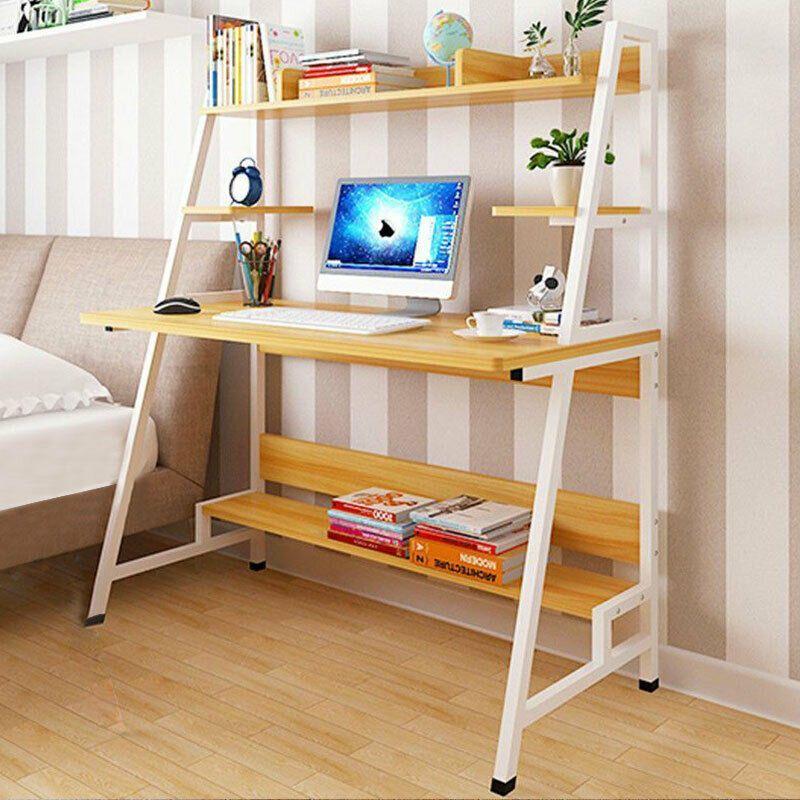 Pin By Le Paradis Du Bois On Bureau En Bois Scandinavian Office Desk Home Office Design Ergonomic Computer Desk