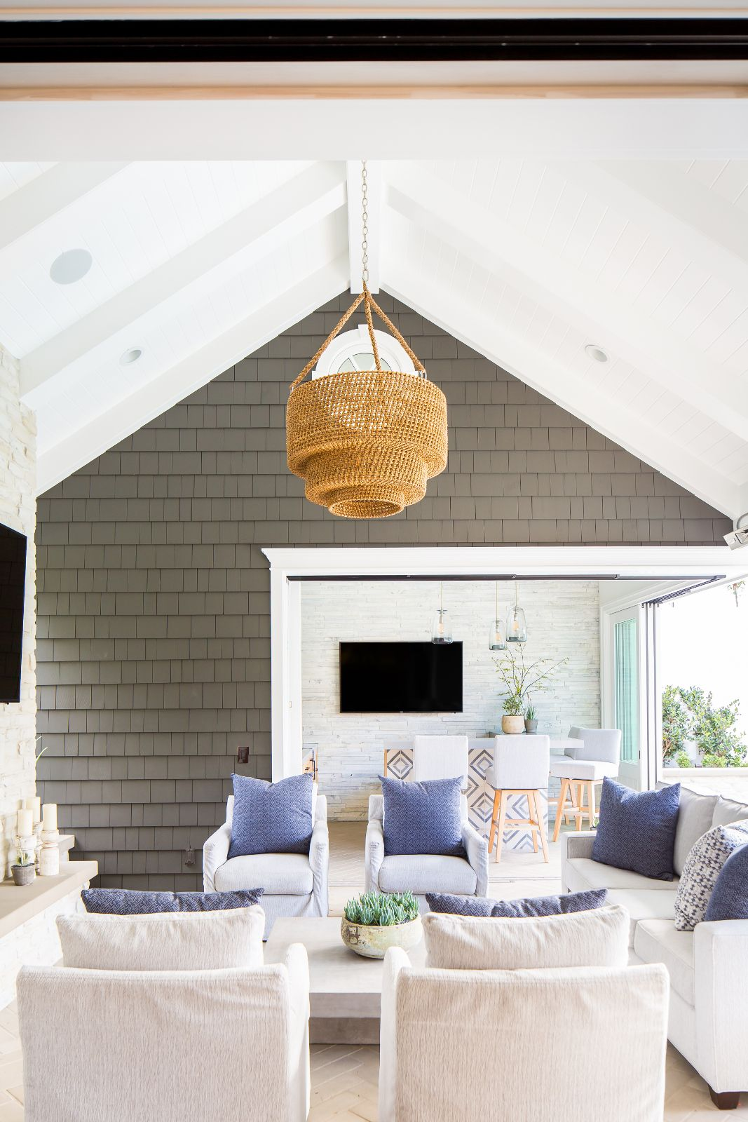 Outdoor Living By Brooke Wagner Design With Images Bar Interior Design Home Decor Styles