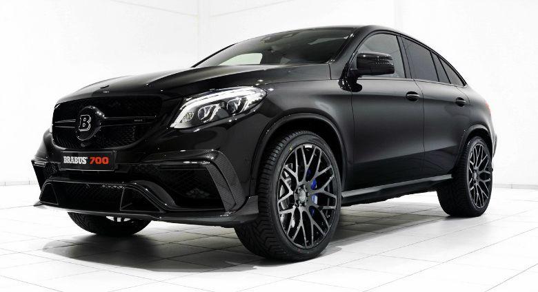 Avec Brabus Le Mercedes Gle Coupe N A Plus De Concurrent With