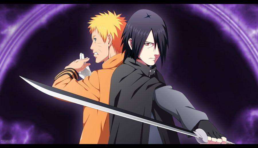 Naruto And Sasuke Boruto The Movie By Tofiqhuseynov Naruto And Sasuke Wallpaper Naruto Dan Sasuke Wallpaper Naruto Shippuden