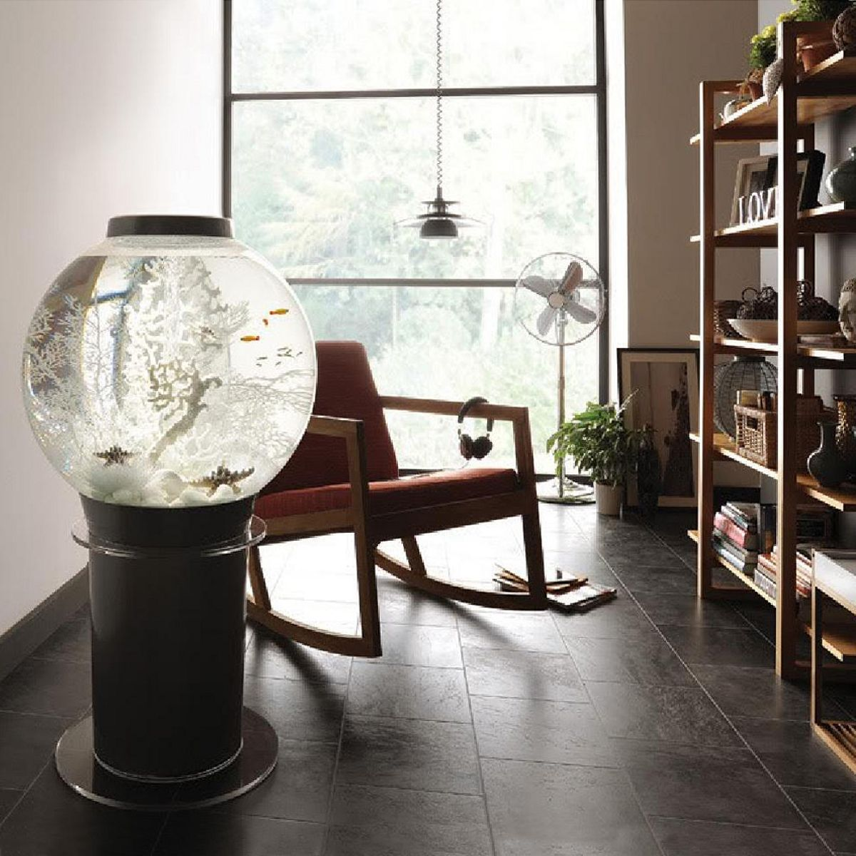 The ultimate in aquatic decoration is the MegaOrb Aquarium. This 28 ...