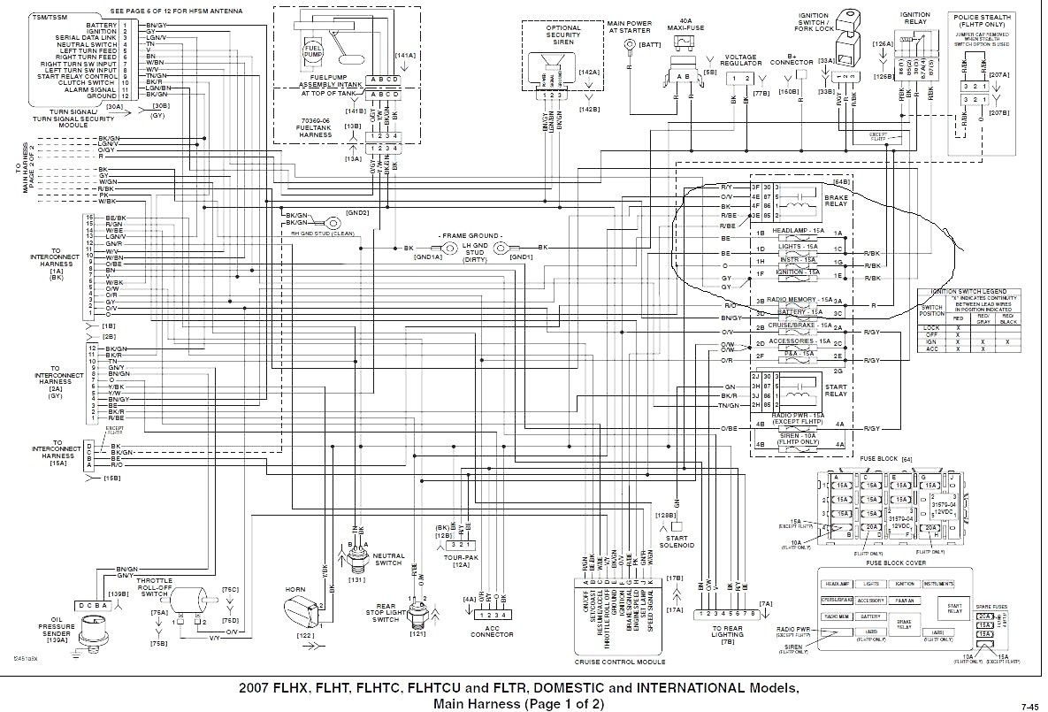 Harley Davidson Radio Wiring Diagram For 0900c bba2 Gif ... on