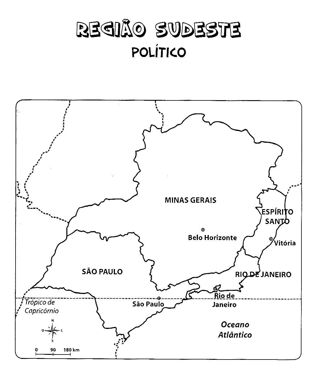 Mapas Fonte Cantinho Da Dezinha Geografia Atividades De