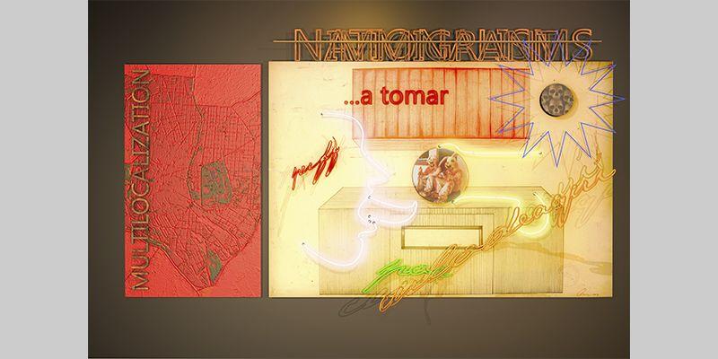 ESPECTACULO INTEGRACIONISTA. YENY CASANUEVA Y ALEJANDRO GONZALEZ. PROYECTO PROCESUAL ART