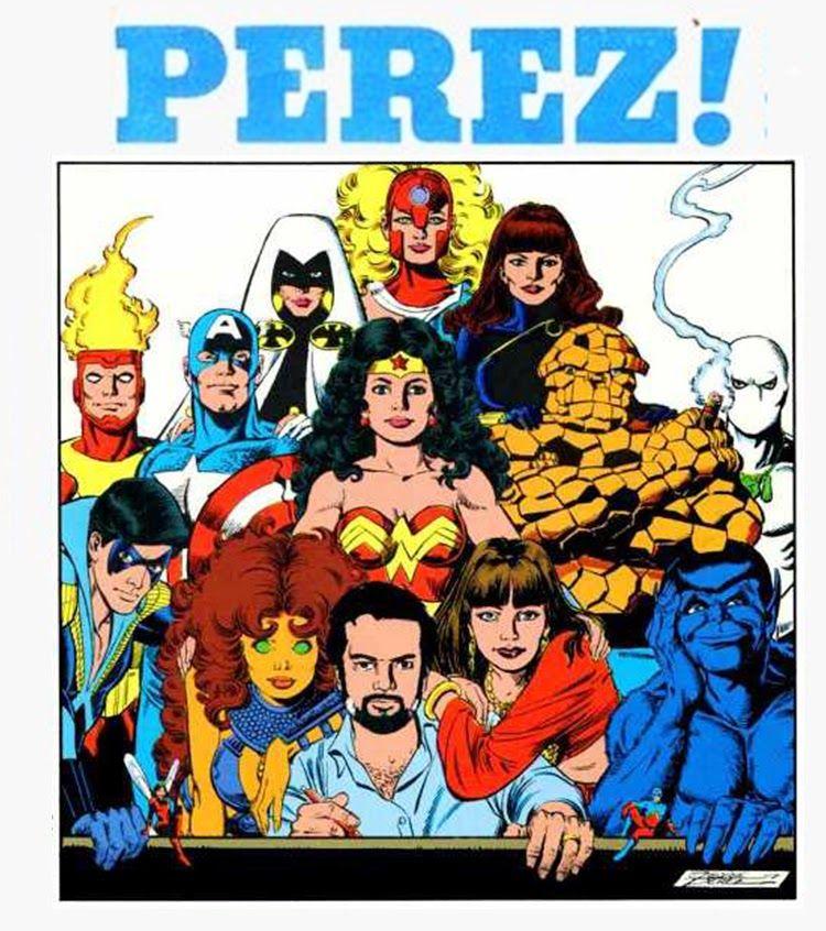 The Great Comic Book Heroes: Happy 61st birthday George Perez!