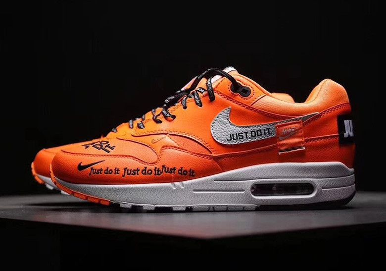 Nike Air Max 1 Just Do It Orange Release Info  thatdope  sneakers  luxury   dope  fashion  trending c2f0ff865