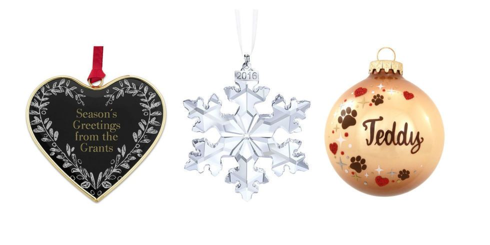 15 adornos de Navidad personalizados