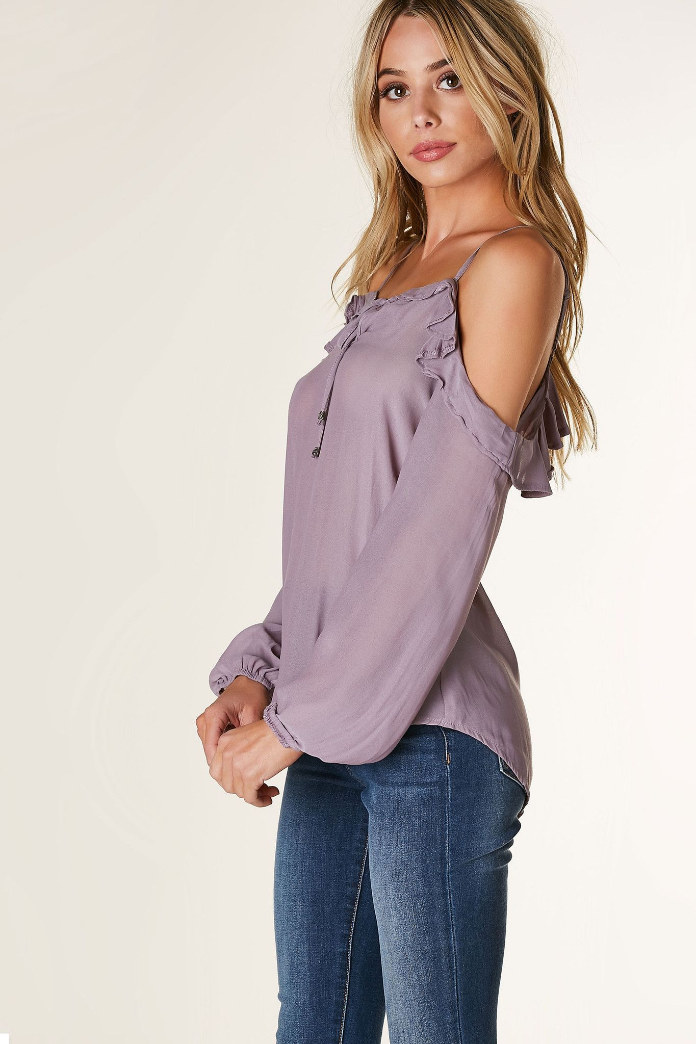 Rachel Roy One-Shoulder Flounce Top, Created for Macys
