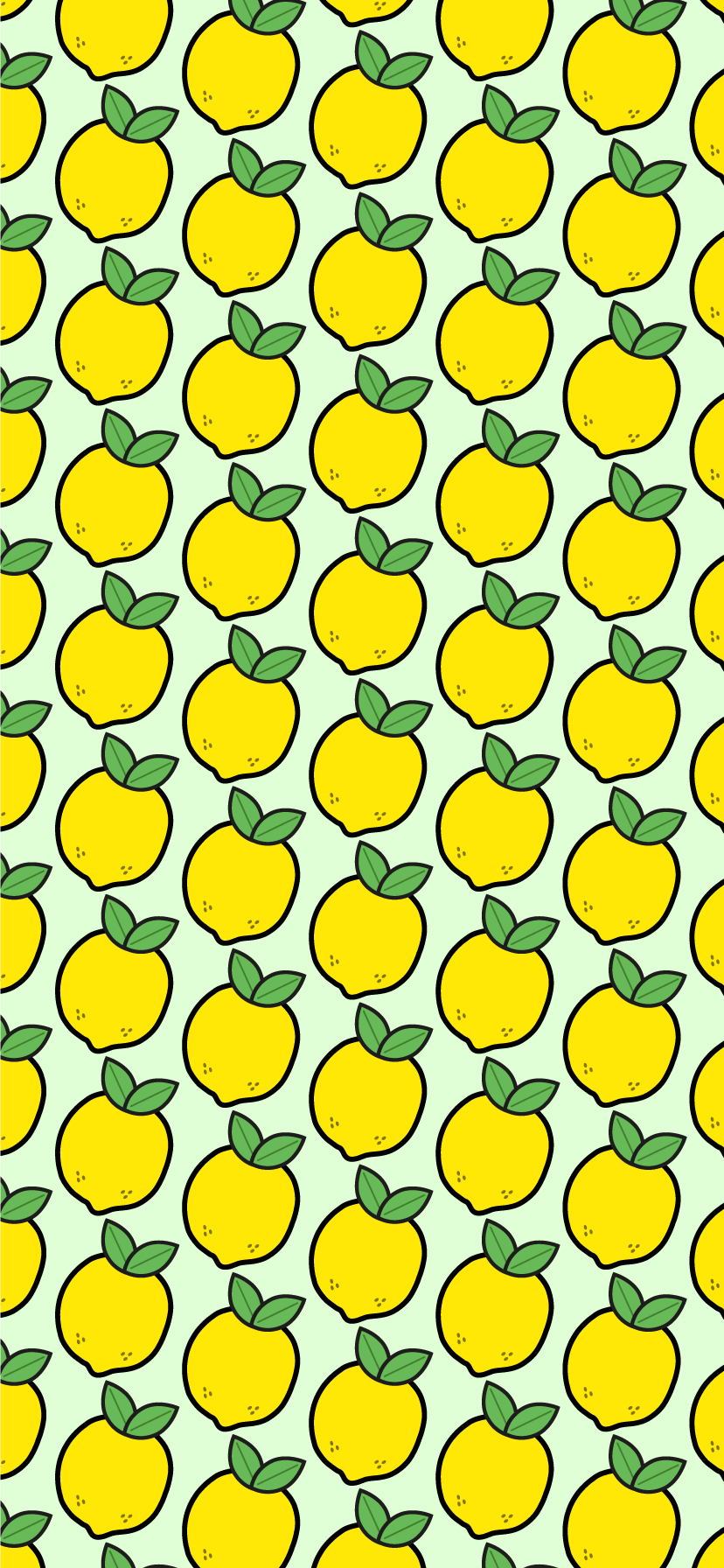 Green Lemon Background Wallpaper For Iphone Xr Lemon Background