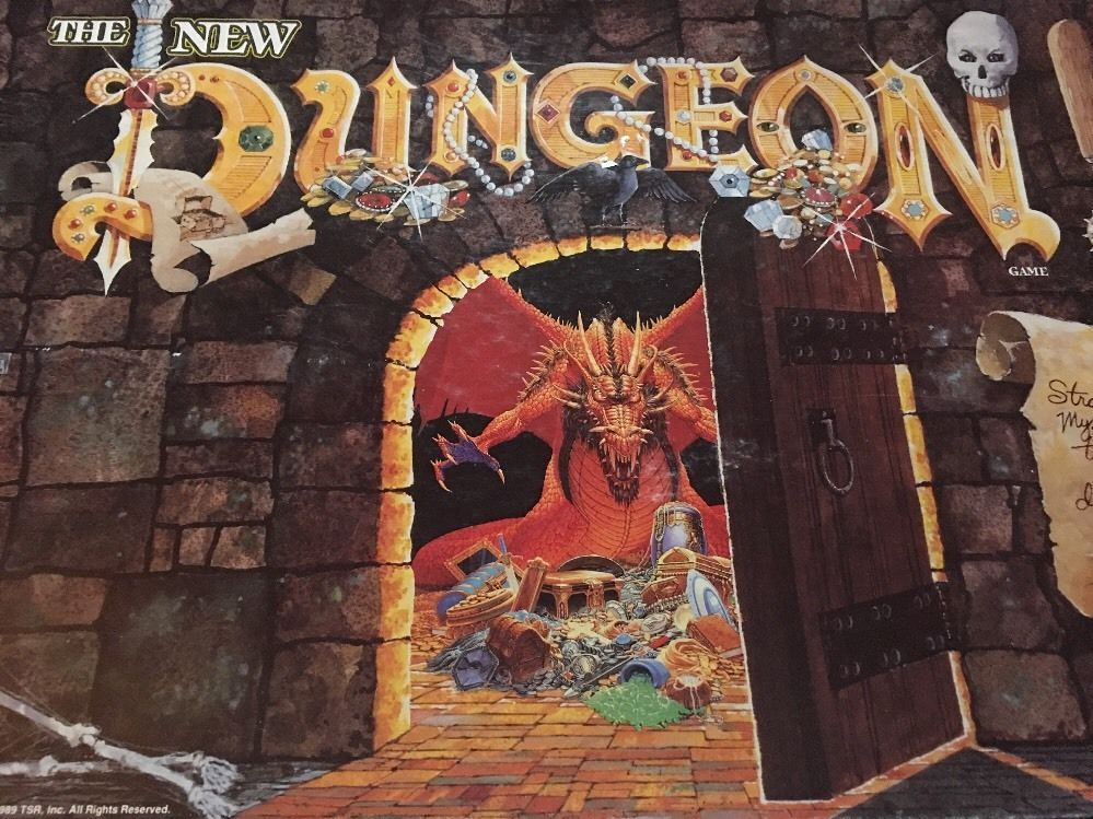 The New Dungeon Game TSR 1989 Board Game D D | eBay