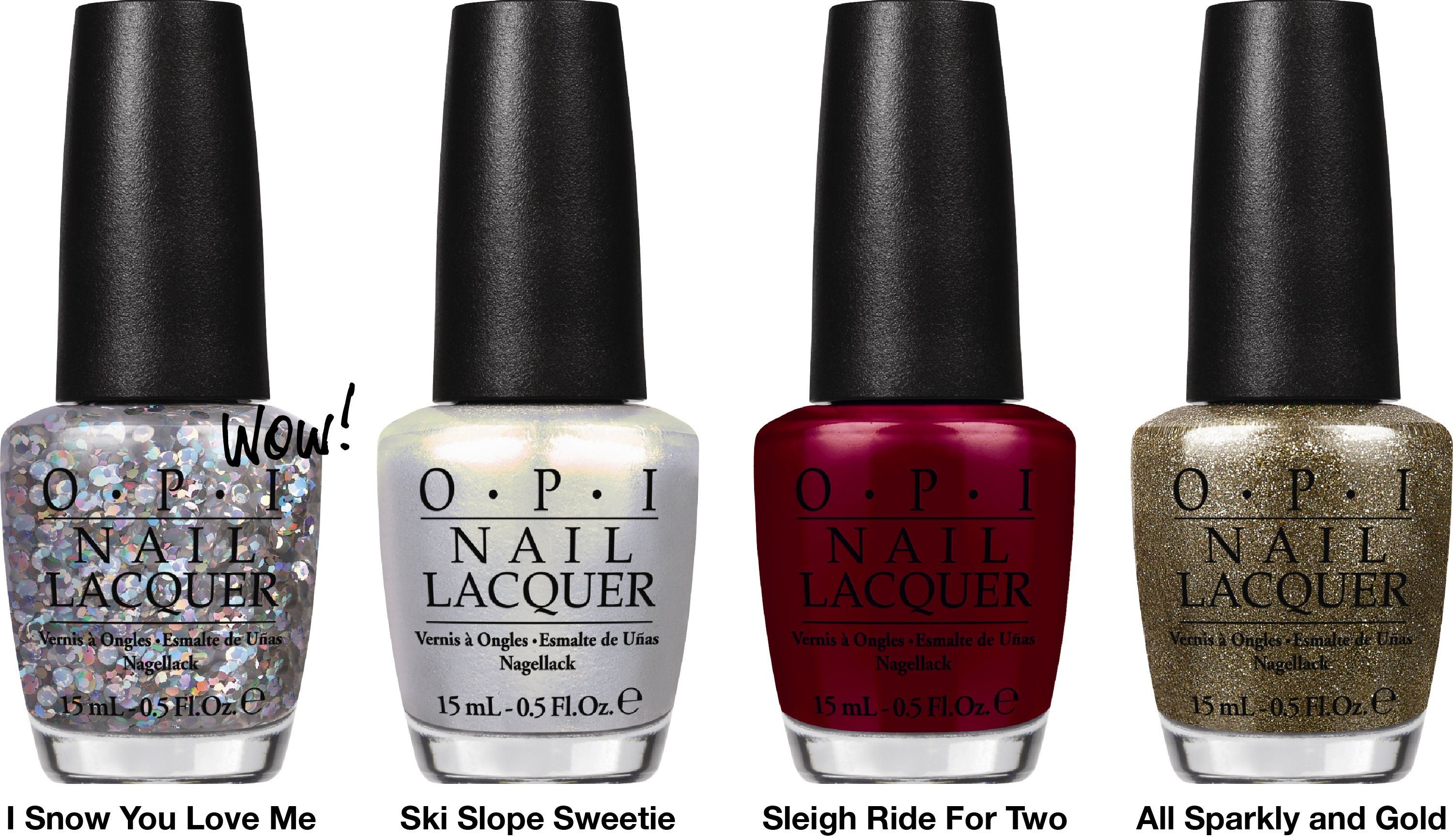 OPI - 2013 Mariah Carey Holiday Collection (part 1/4) | n a i l s ...