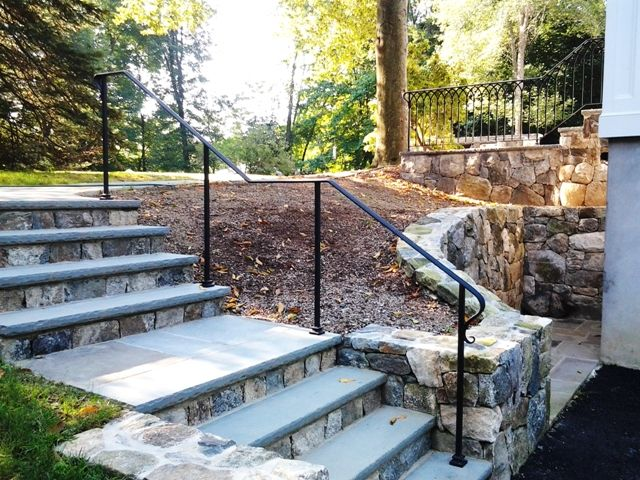 Best Simple Wrought Iron Handrail Outdoor Handrail Railings 400 x 300