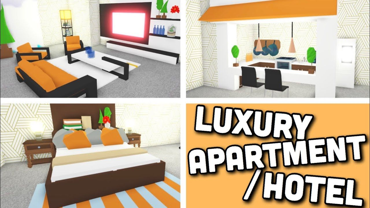 I Made A Luxury Apartment Hotel Room Using New Design Ideas Building Hacks Adopt Me Roblox Youtube In 2020 Luxury Apartments Apartment Design Hotels Room