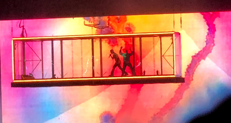 Kanye West Kid Cudi Make Controversy Free Entertaining Live