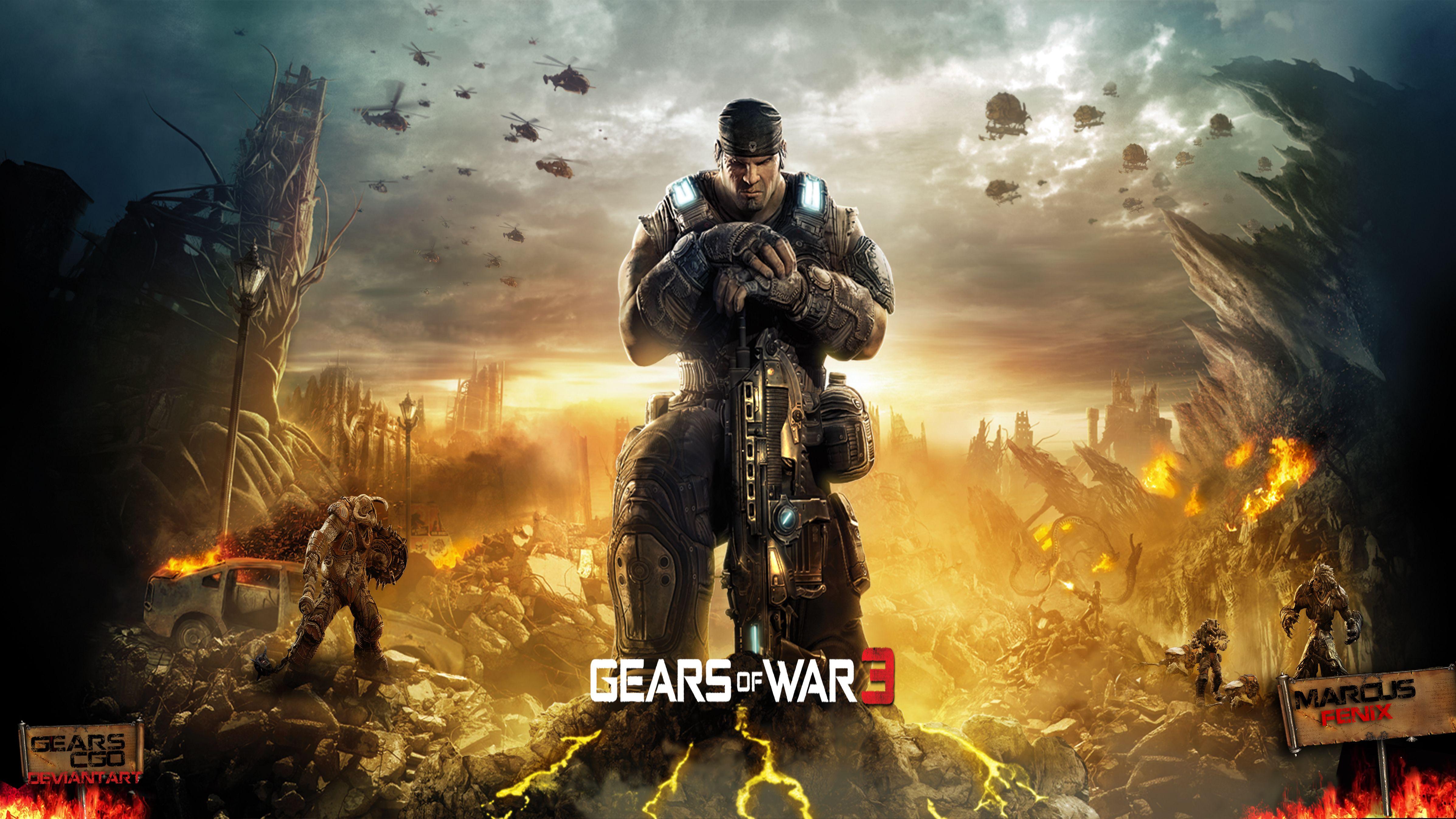 Gears Of War 3 Wallpaper By Gearscgo On Deviantart Gears Of War 3 Gears Of War War