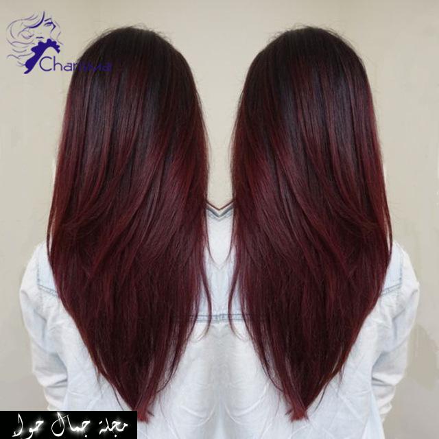 الوان صبغات الشعر للبشرة السمراء احدث صبغات الشعر للبشره السمراء 2017 ماهو لون الشعر المناسب للبشرة السمراء صبغات شع Wine Hair Hair Styles Long Hair Styles