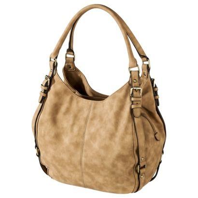 Merona Hobo Handbag Natural