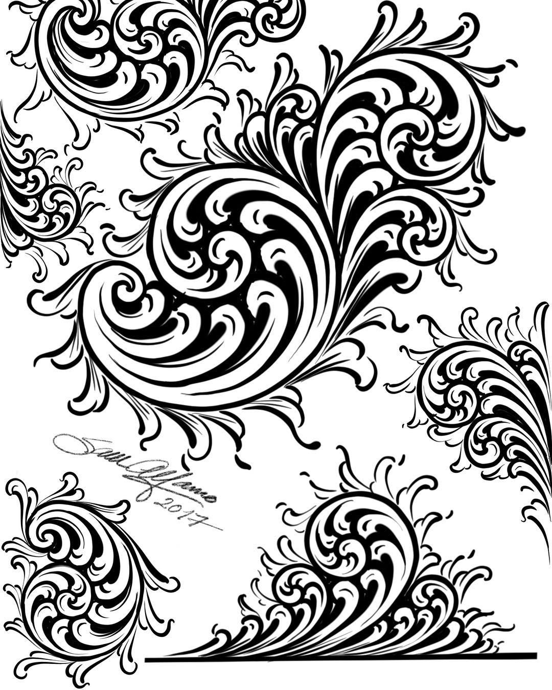 Pin By Daniel Lawrence On Filigree And Scrollwork