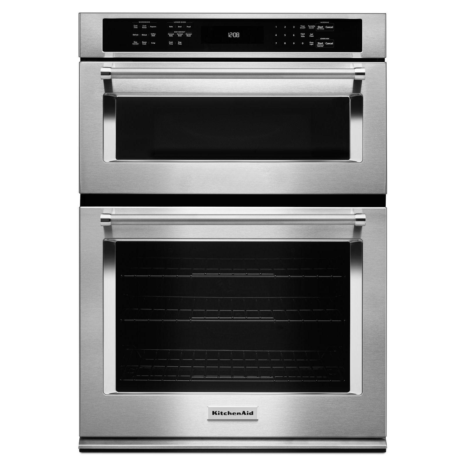 Koce500ess 2663 kitchenaid 30 combination wall oven