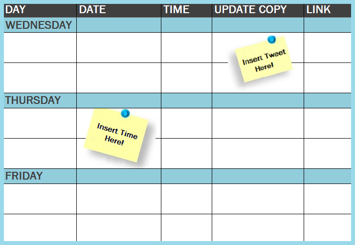 10 images about Organize It – Schedule Design Templates
