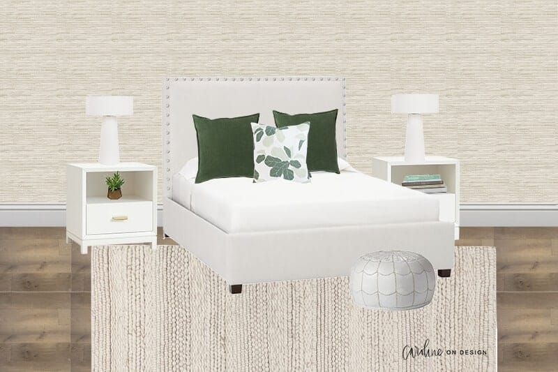 3 Fun Ways To Style An Ivory Upholstered Bed Upholstered Beds