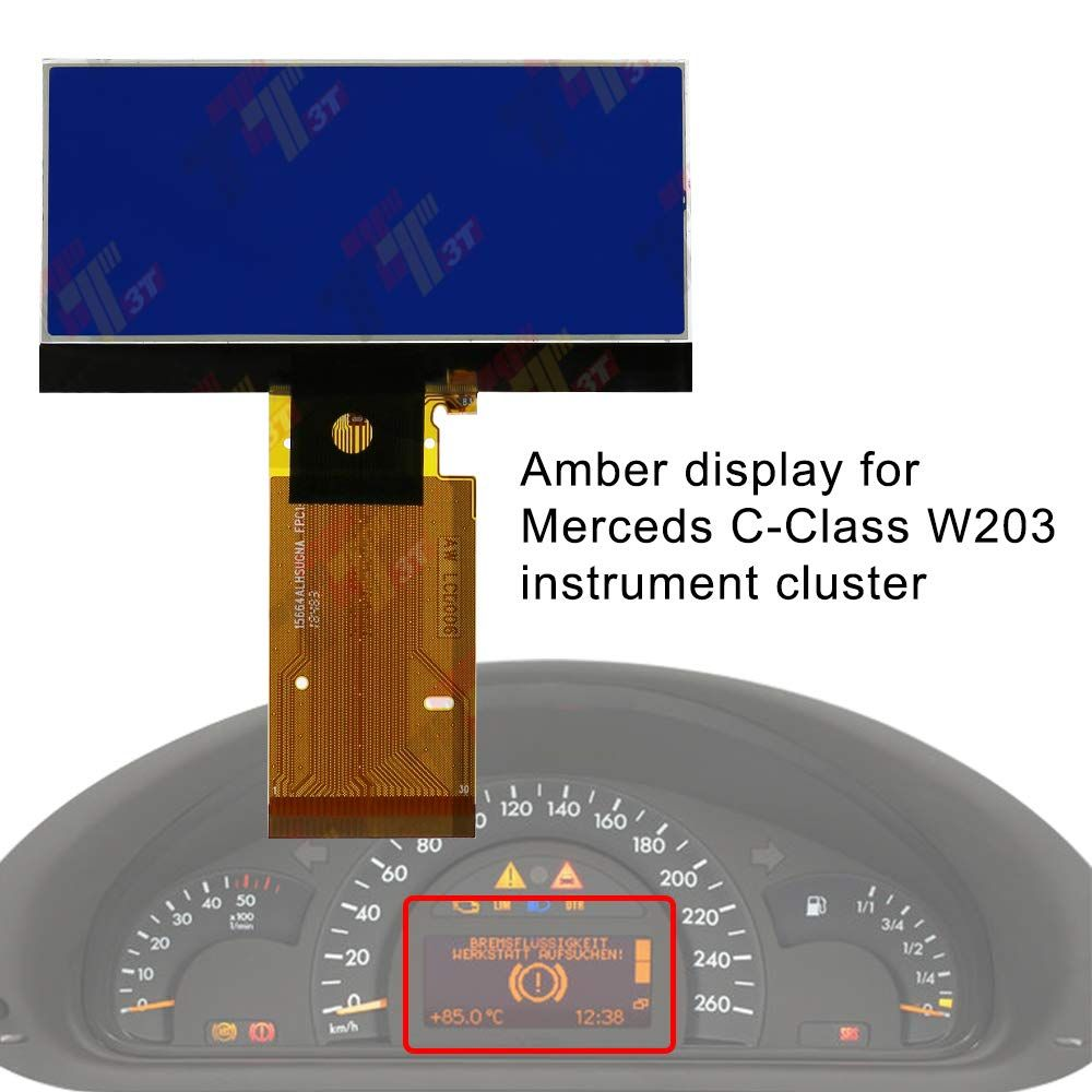 Allway Instrument Speedometer Cluster Lcd Screen Display For Mercedes Benz W203 C230 C240 C320 C Class 2001 2004 Read More Re Mercedes Mercedes Benz C Class