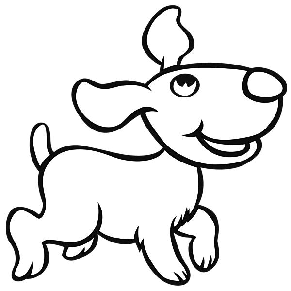 Dibujos de perros para colorear  Iluminar  Pinterest