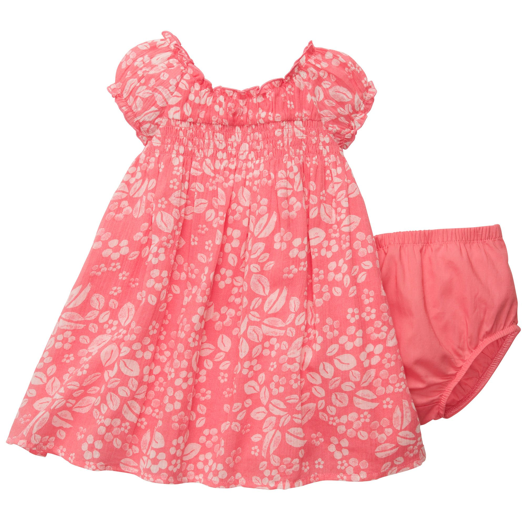 Crinkle Cotton Lawn Dress Baby Girl Outfits