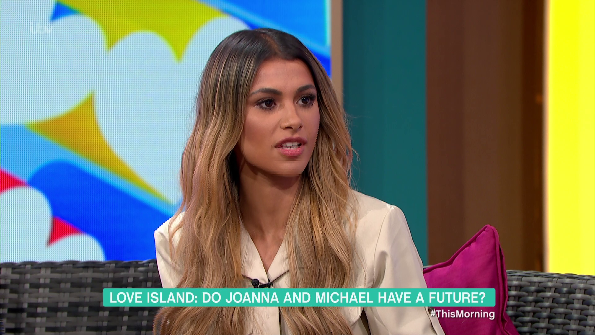 Love Island's Joanna WON'T give Michael a second chance