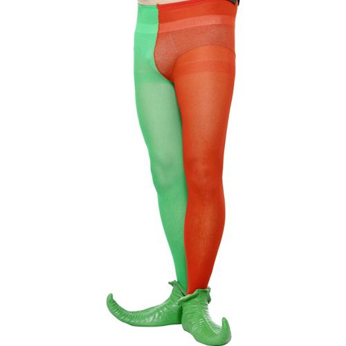 f7fc008d66c6c Tights Men's Costume Tights Red and Green 29037   Fancy dress ...