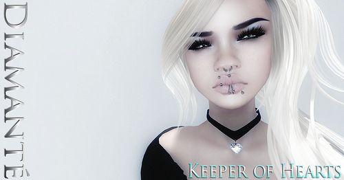 :Diamante: Keeper of Hearts Chokers  http://maps.secondlife.com/secondlife/Dark%20Eternal%20Rose/128/131/28