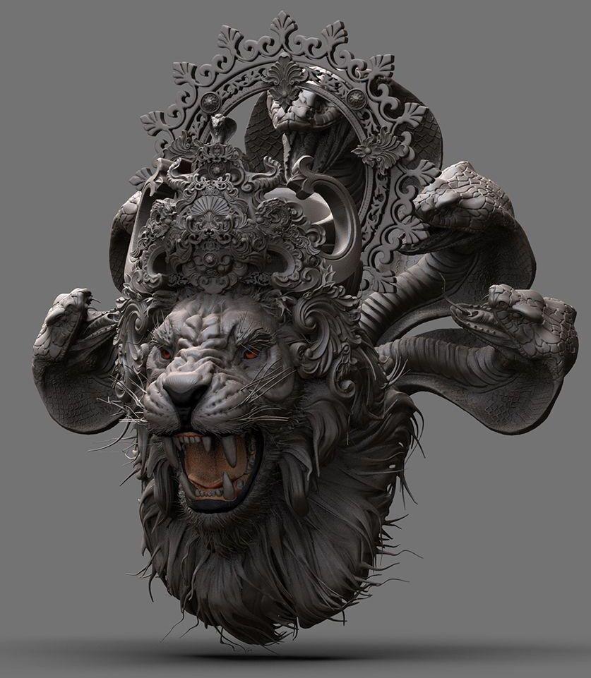 Lord Nṛsiṁhadeva Hindu art, Shiva art, God art